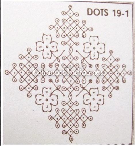19_dots_sikkukolam