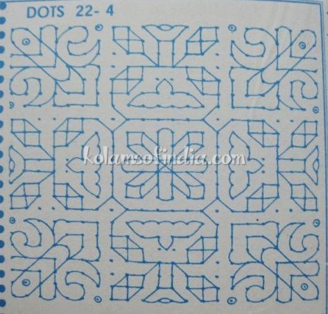 22 Dots Big Kolam