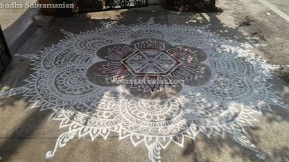 Big Kolam for Festivals