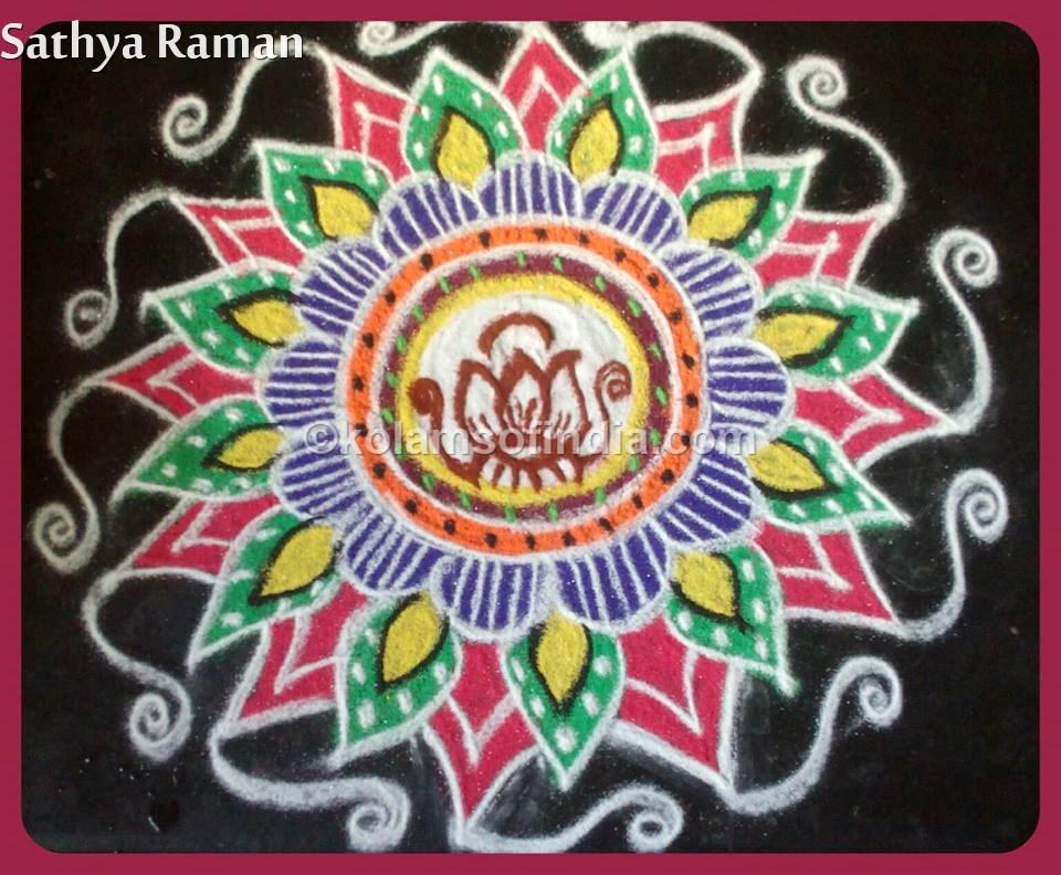 lotus_kolam_kamal_rangoli