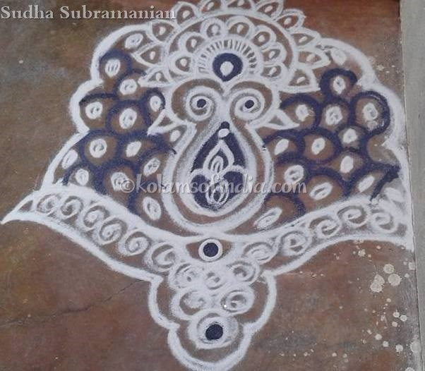peacock_small_rangoli_daily_kolams