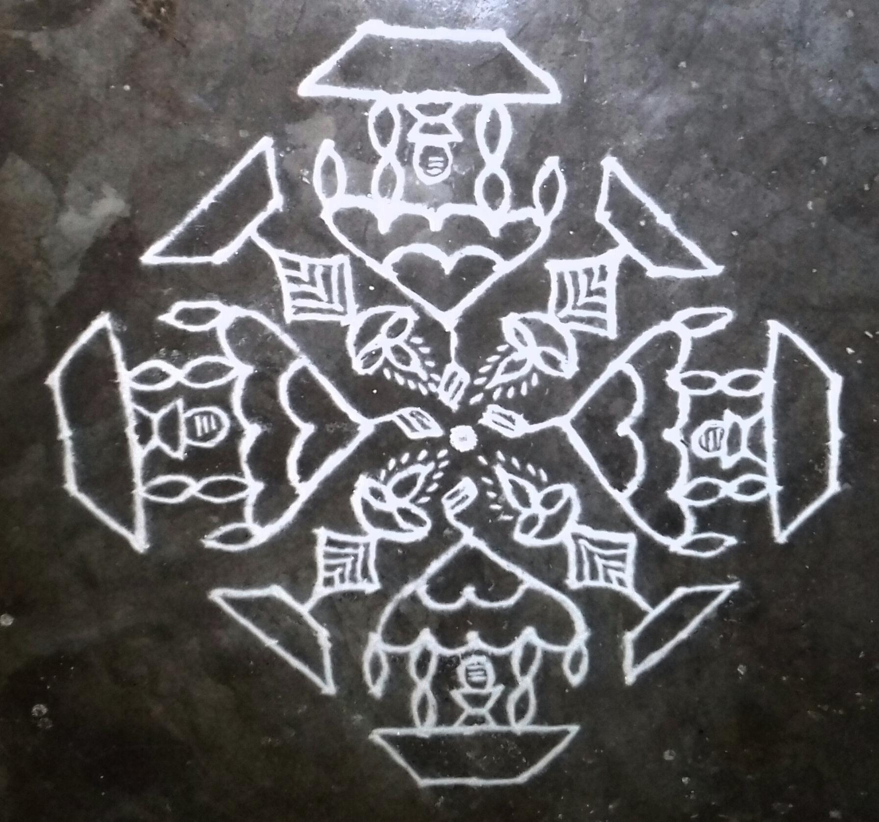 Ratha Kolam || chariot Kolam