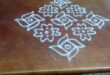 15 dots contest kolam