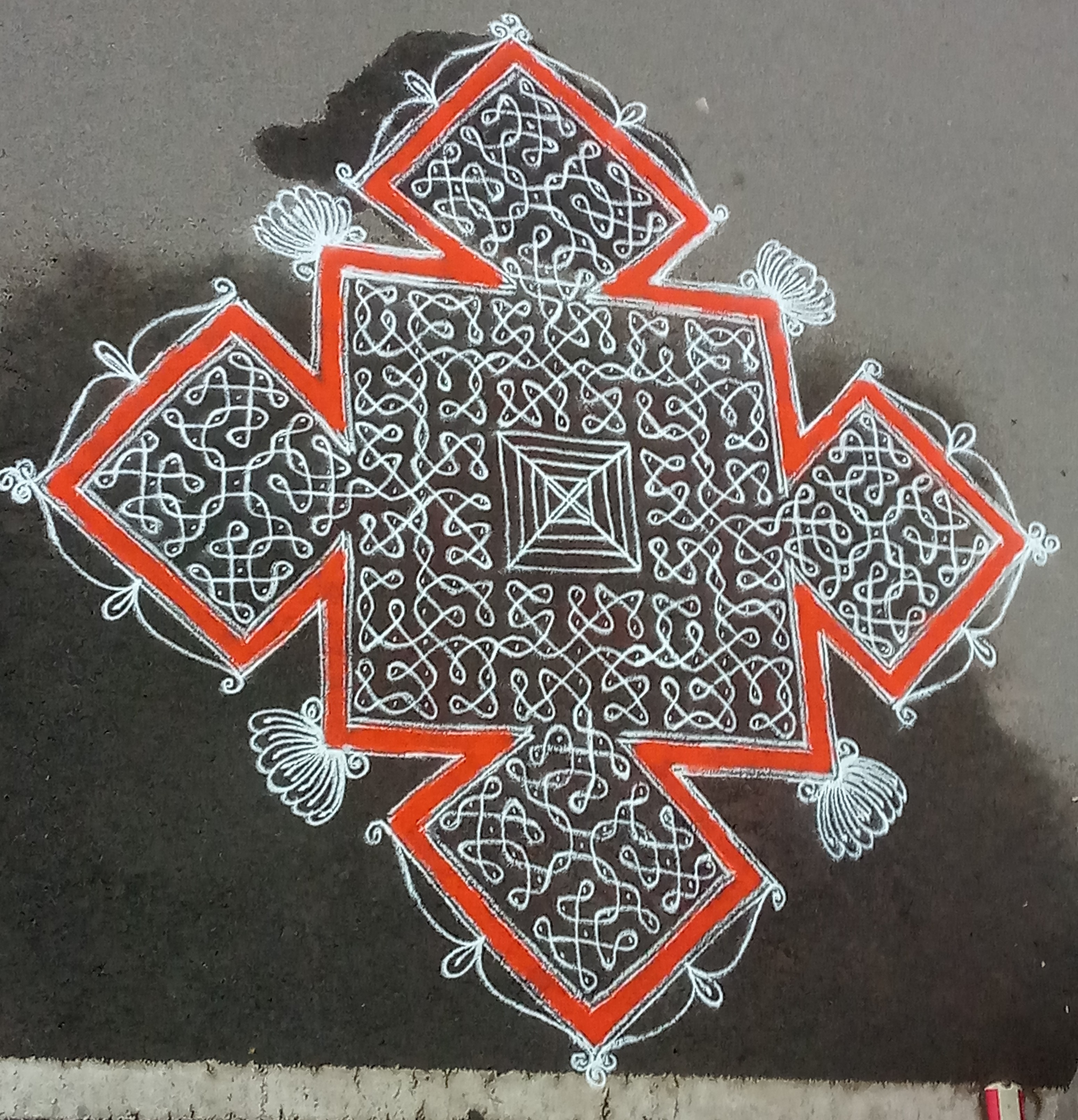 Contest Sikku kolam with 15 dots
