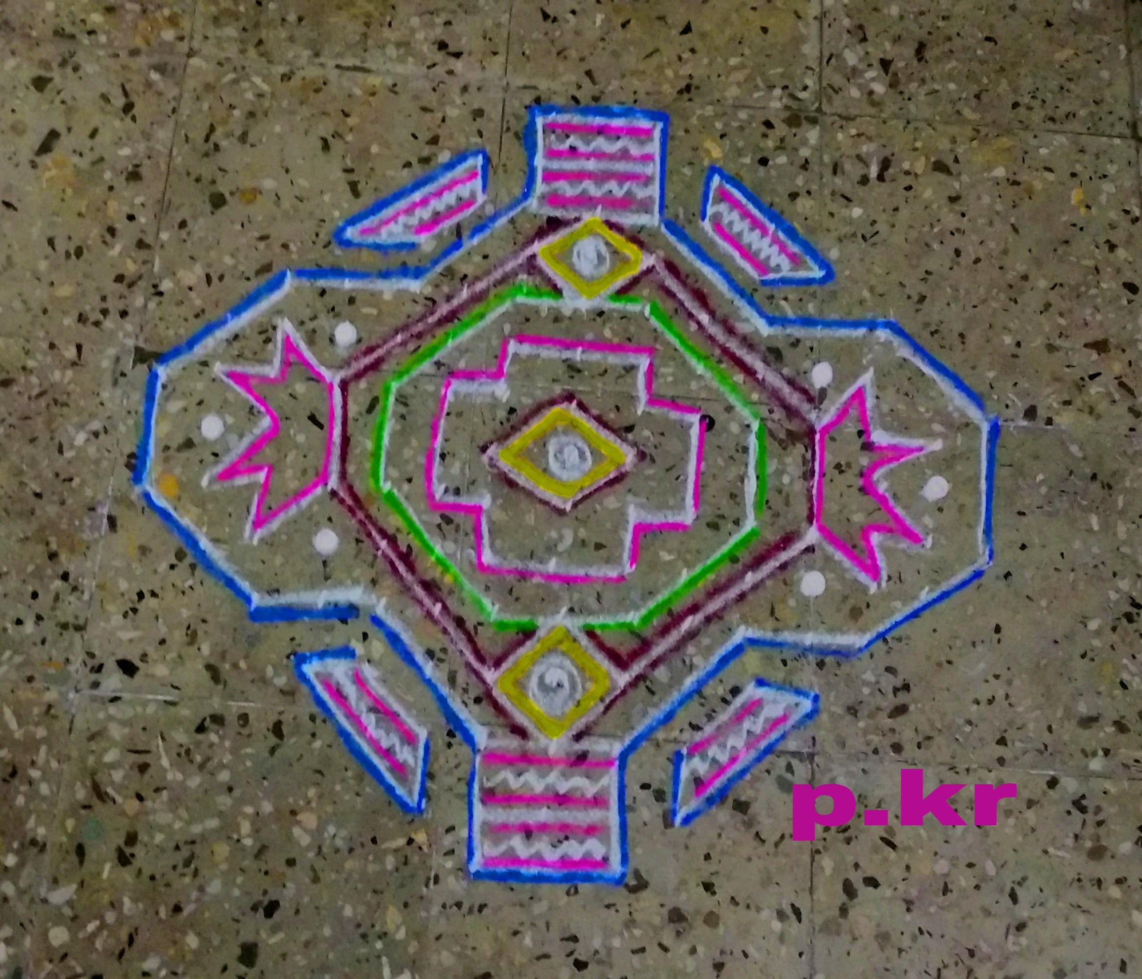 paddikolam(step)