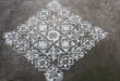 25 Dots Flower kolam || Big Kolam for Contest