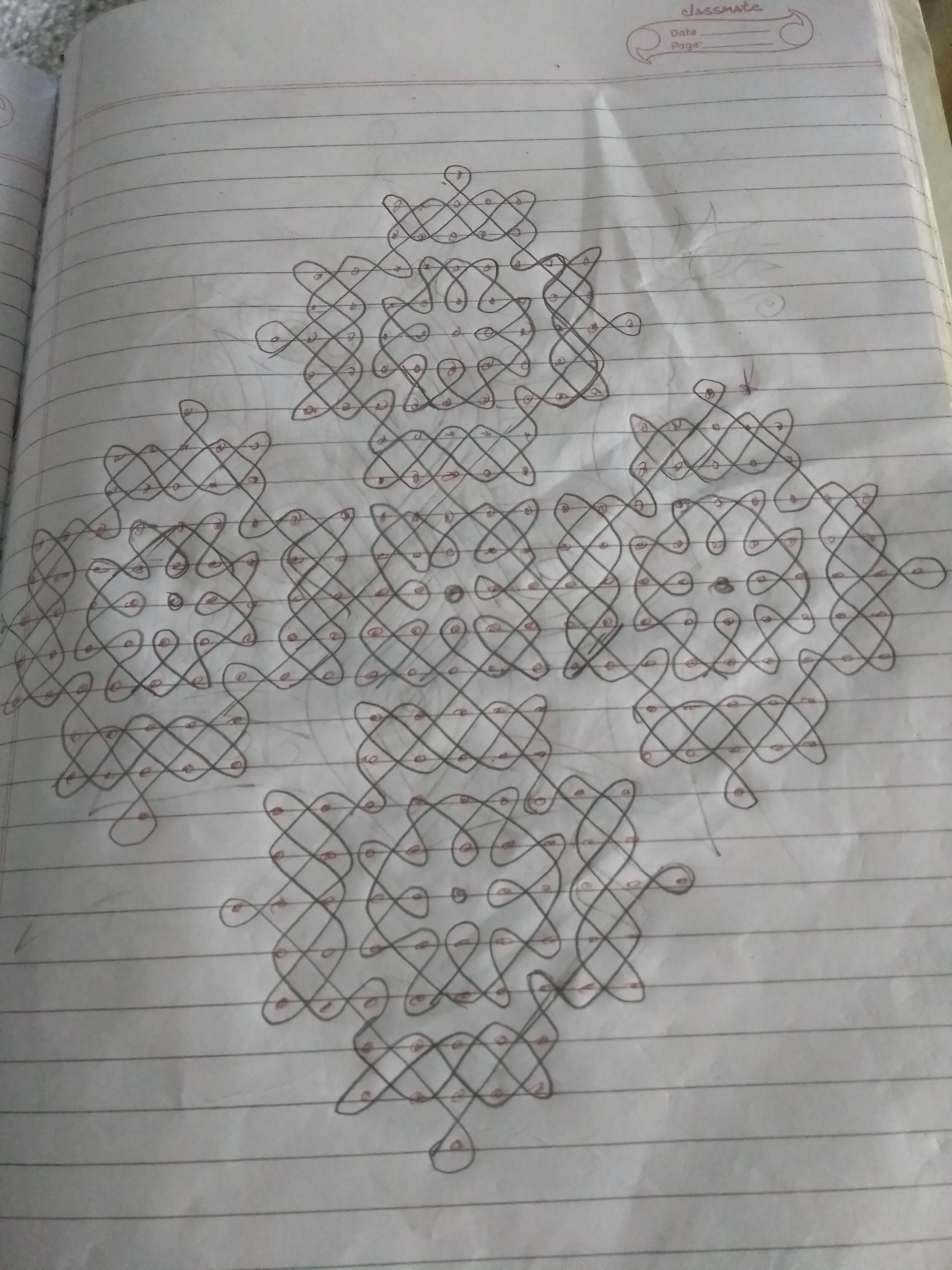 25 dots Sikku kolam || Contest Kambi Kolam