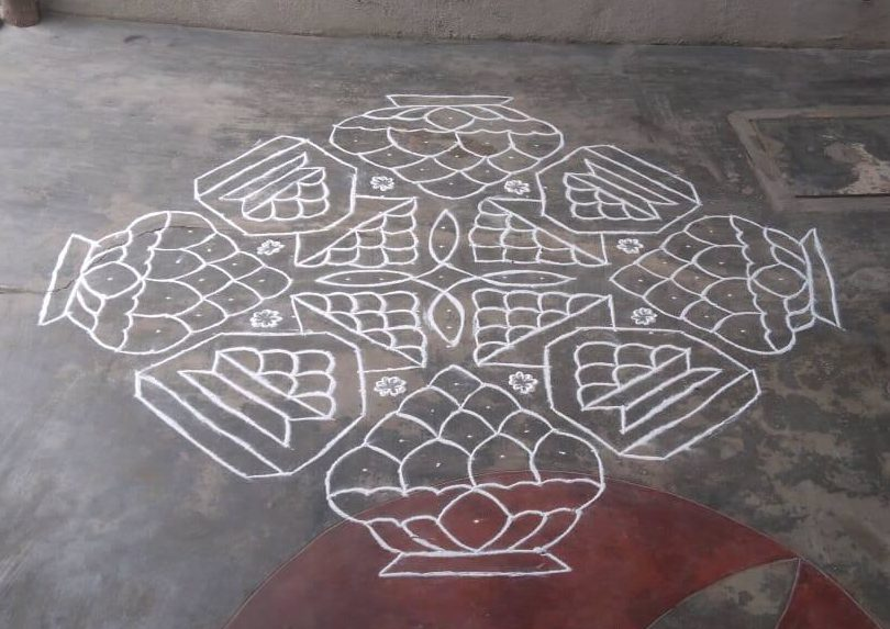 CELEBRATE WITH SWEET KOLAM || 25 Dots contest kolam
