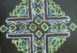 Simple chikku kolam || Contest Kolam with 25 Dots