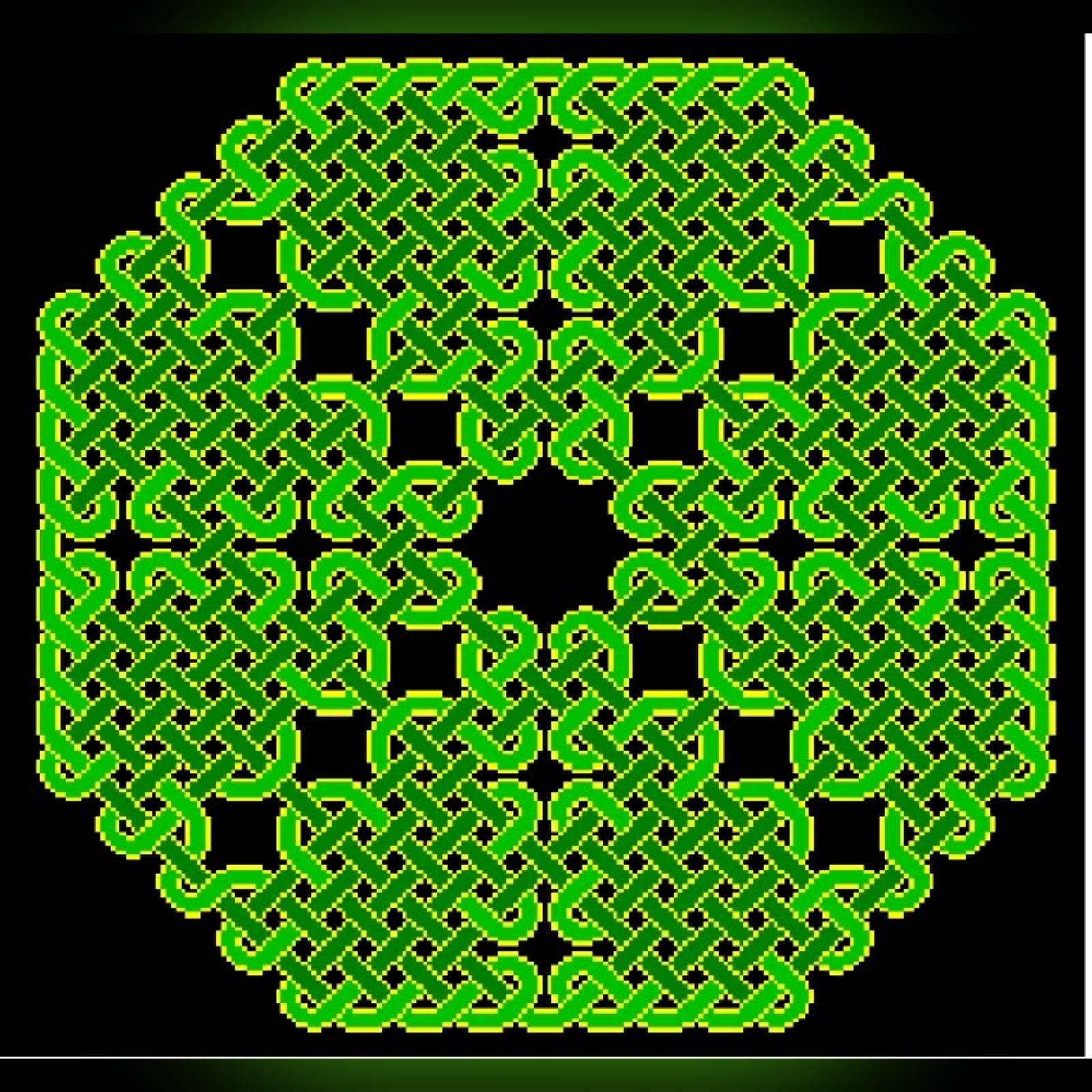 Celtic Knot Chikku Kolam  || 25 Dots Contest Kolam