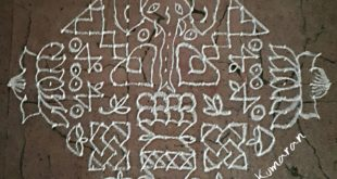 Lord Ganesha || 25 dots Lotus Kolam for contest