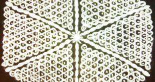 25 dots interlaced dot pattern sikku kolam || Contest chikku kolam