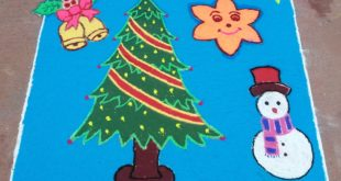 25 dots X'mas tree kolam || Christmas Tree contest kolam || Ezhil kolams