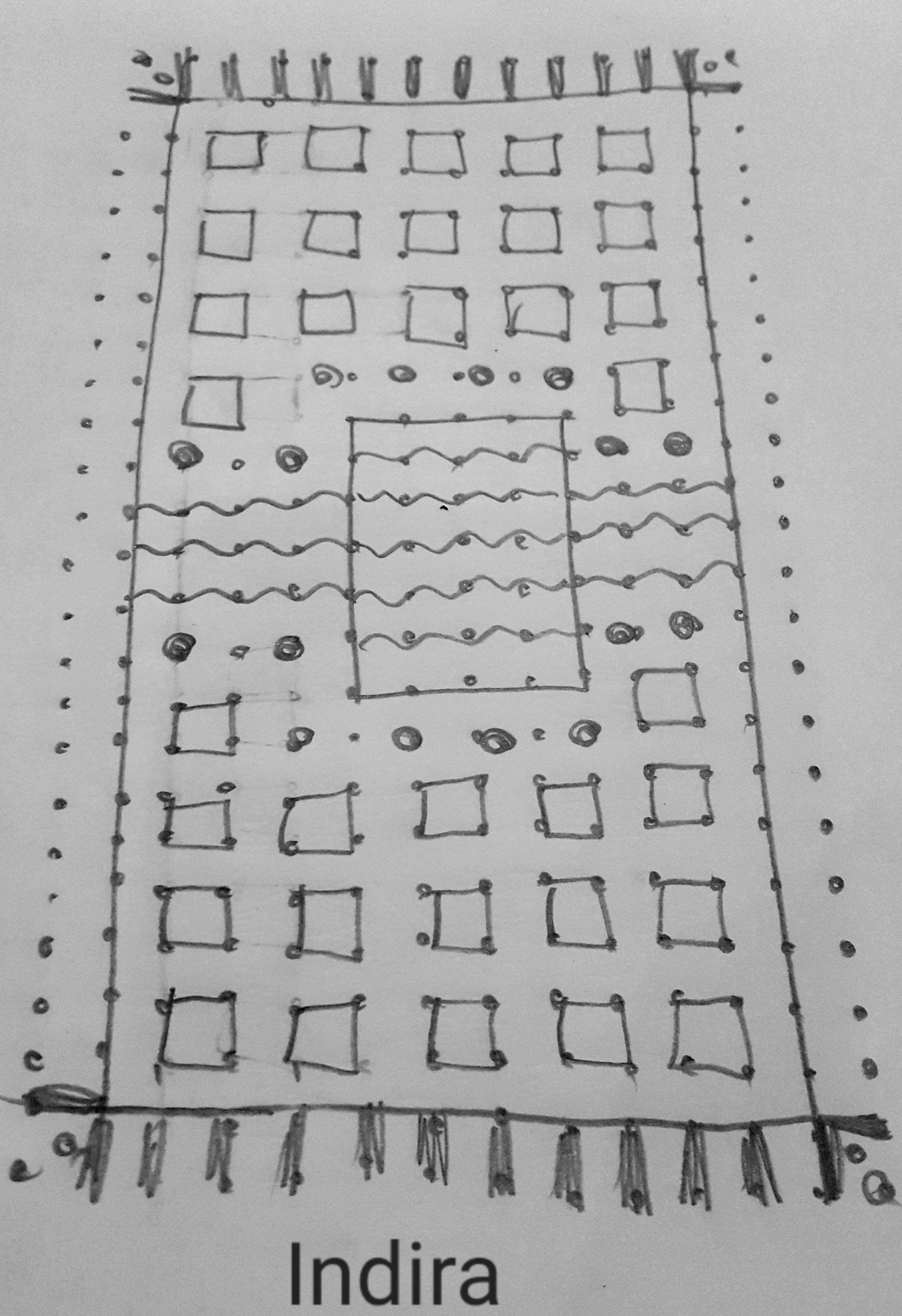 25 dots Carpet Kolam || Mat kolam for contest