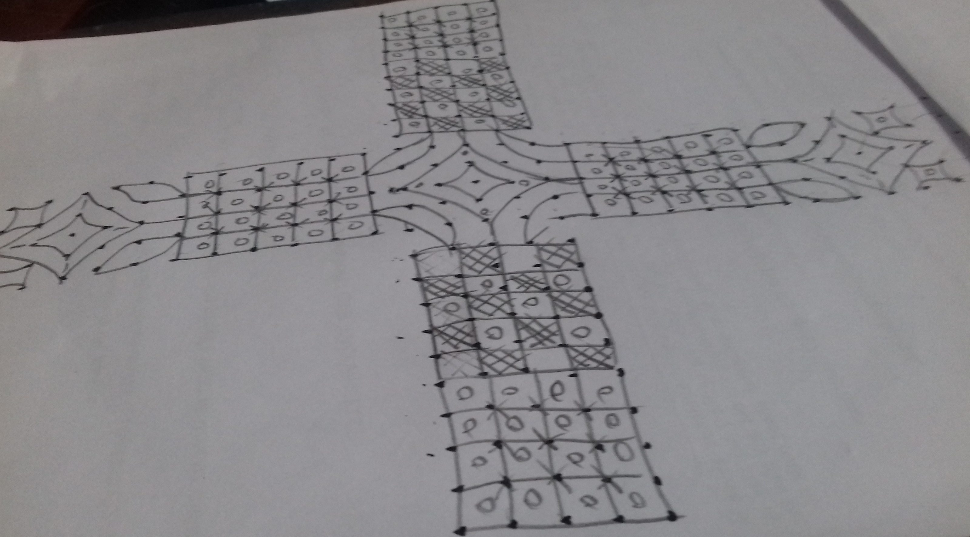 design kolam || 25 dots contest kolam