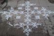chikku kolam with 25 dots || Contest Kolam