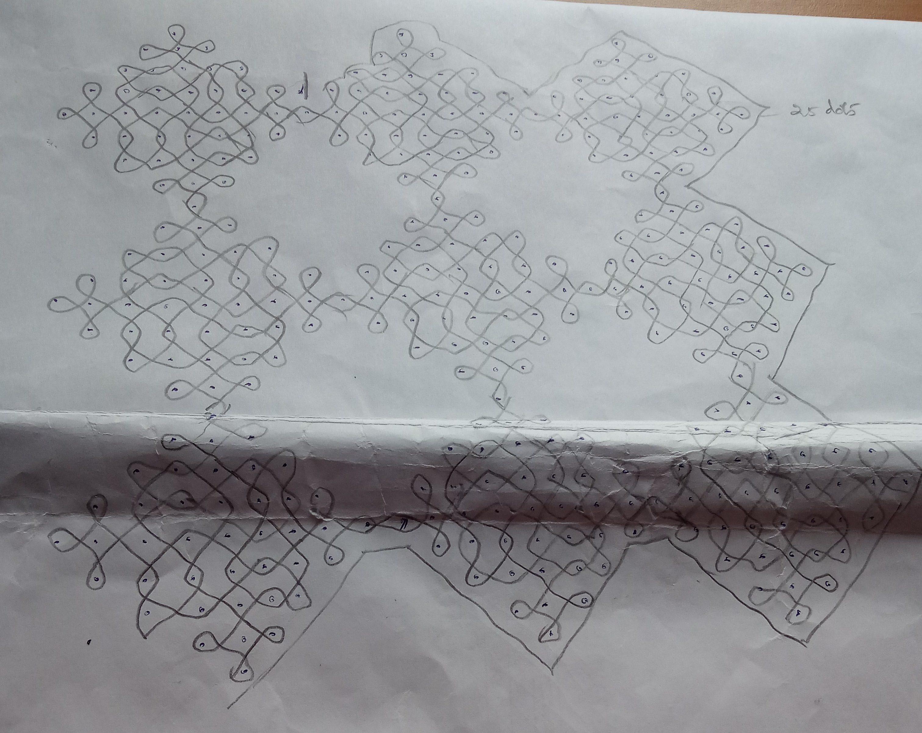 25 dots contest kolam || Sikku Kolam