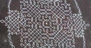 25 dots contest kolam || Chikku Kolam
