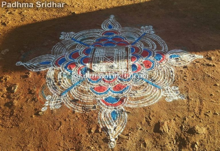 Big Padikolam – Colour Kanya, Manai Kolams