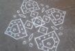 15 dots Square Kolam || contest kolam